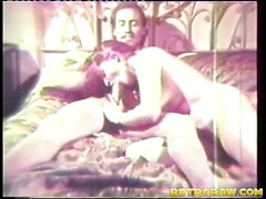 Retro blowing and fucking