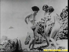 Sex at the nude beach